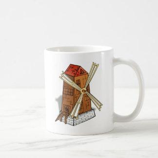 Caneca De Café Design do moinho de vento
