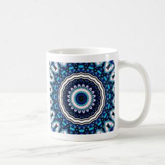 Caneca De Café Design influenciado marroquino do azulejo do