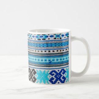 Caneca De Café Design ucraniano dos povos