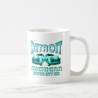 Caneca De Café Detroit Michigan