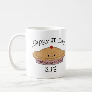 Caneca De Café Dia feliz bonito do Pi!