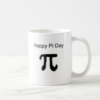 Caneca De Café Dia feliz do Pi