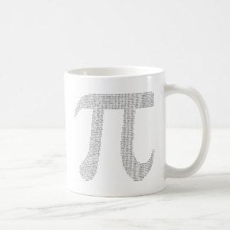 Caneca De Café Dígitos do Pi