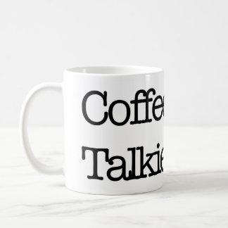 Caneca De Café Do café Talkie agora mais tarde