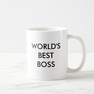 Caneca de café do chefe de Worl a melhor
