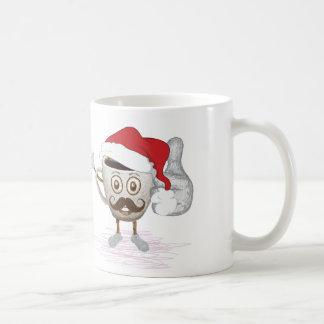 Caneca de café do chefe do Moustache a melhor