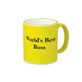 Caneca de café do chefe do mundo a melhor