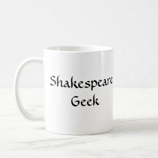 Caneca de café do geek de Shakespeare