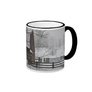 Caneca de café do inverno