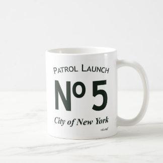 Caneca de café do logotipo do lançamento 5