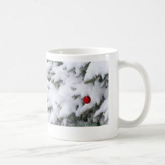 Caneca de café do país das maravilhas do inverno