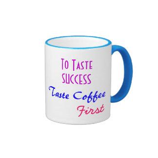 Caneca de café do sucesso do gosto