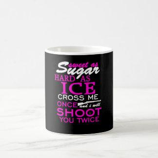 Caneca De Café Doce como dizer do açúcar