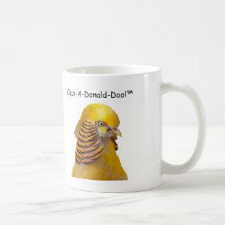 Caneca De Café Donald Doo