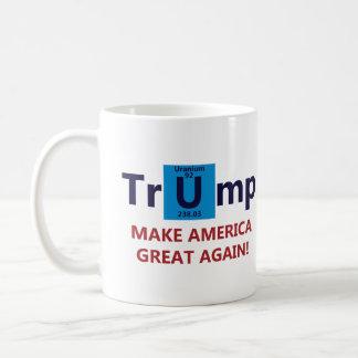 Caneca De Café Donald Trump para o presidente
