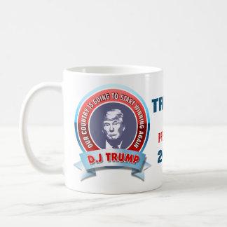 Caneca De Café Donald Trump para o presidente 2016