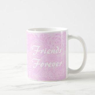 Caneca De Café Dos melhores amigos dos amigos rosa do rosa da