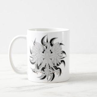 Caneca De Café Eagle polonês Sun