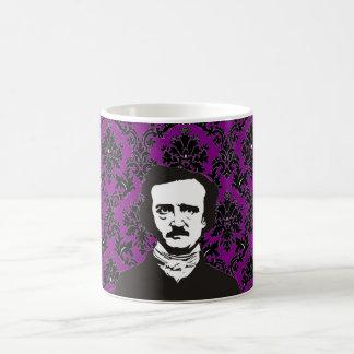 Caneca De Café Edgar Allan Poe - roxo