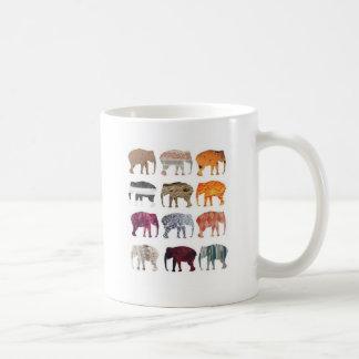 Caneca De Café Elefantes