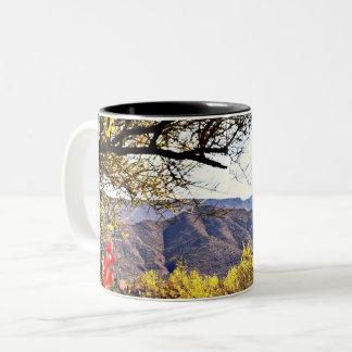 Caneca De Café Em Dois Tons Copo de café da montanha de Tonto