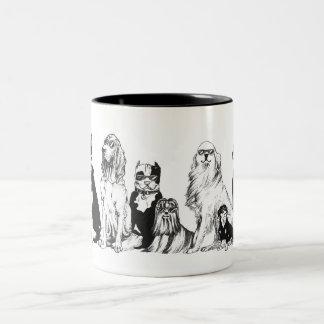 Caneca De Café Em Dois Tons Dog's World