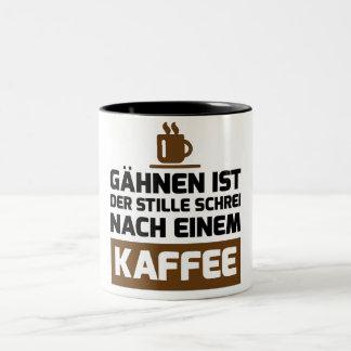 Caneca De Café Em Dois Tons kaffee tasse