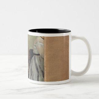 Caneca De Café Em Dois Tons Monsieur de Edgar Degas | e senhora Edouard Manet