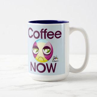 Caneca De Café Em Dois Tons O café agride agora