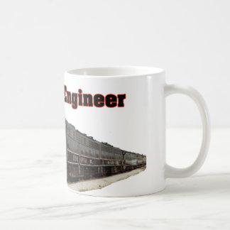 Caneca De Café Engenheiro aposentado central de Illinois