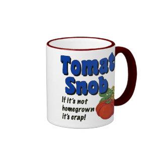 Caneca de café engraçada do provérbio do snobe do