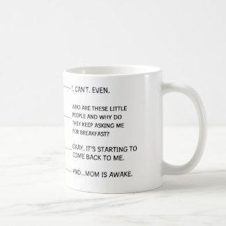 Caneca de café engraçada para a mamã