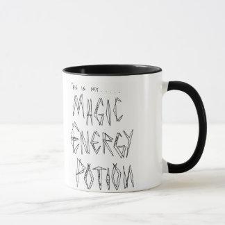 Caneca de café engraçada - poção mágica da energia