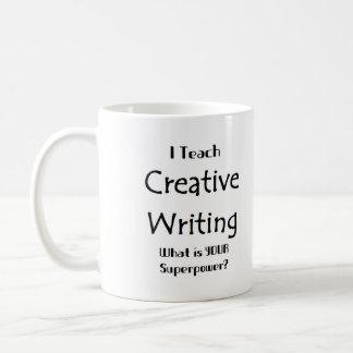 Caneca De Café Ensine a escrita criativa