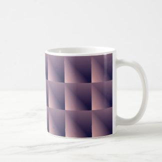 Caneca De Café Entalhes de papel malva
