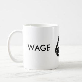 Caneca De Café Escravo do salário