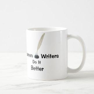 Caneca De Café Escritores das mulheres melhora