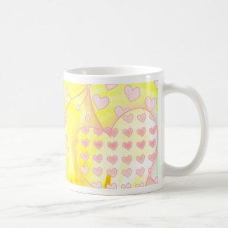 Caneca De Café esperança cor-de-rosa