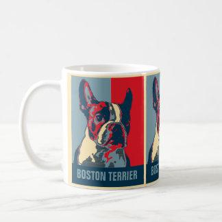 Caneca De Café Esperança de Boston Terrier inspirada