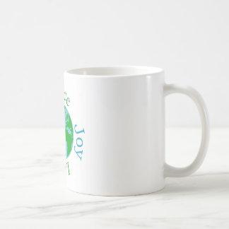 Caneca De Café Esperança do amor da alegria da paz