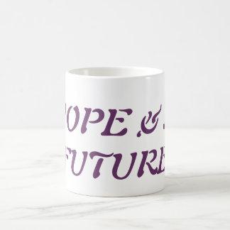 Caneca De Café Esperança & um futuro