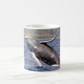 Caneca De Café Espirro da baleia de Humpback