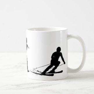 Caneca De Café Esquiador