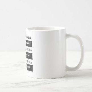 Caneca De Café Está você grávido?