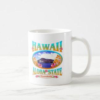 Caneca De Café Estado de Havaí Aloha