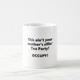 Caneca De Café Este não é tea party do Effin da sua mãe!