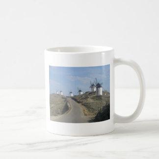Caneca De Café Estrada do moinho de vento