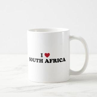 Caneca De Café Eu amo África do Sul