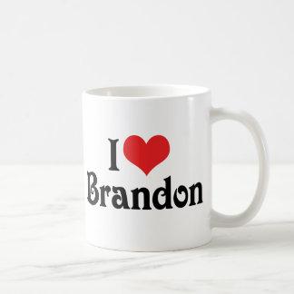 Caneca De Café Eu amo Brandon