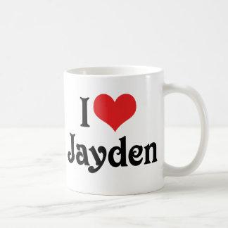 Caneca De Café Eu amo Jayden